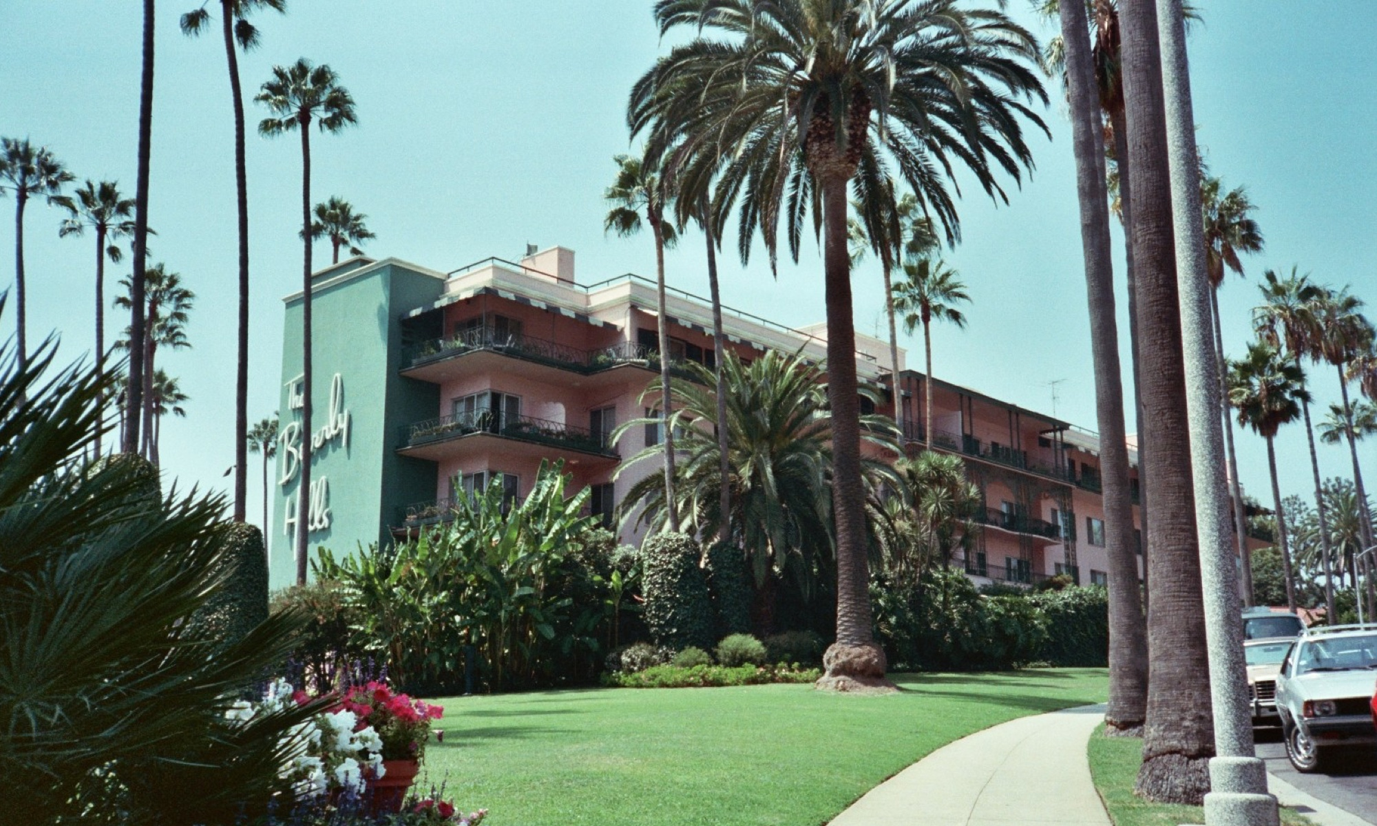 The iconic Beverly Hills Hotel.