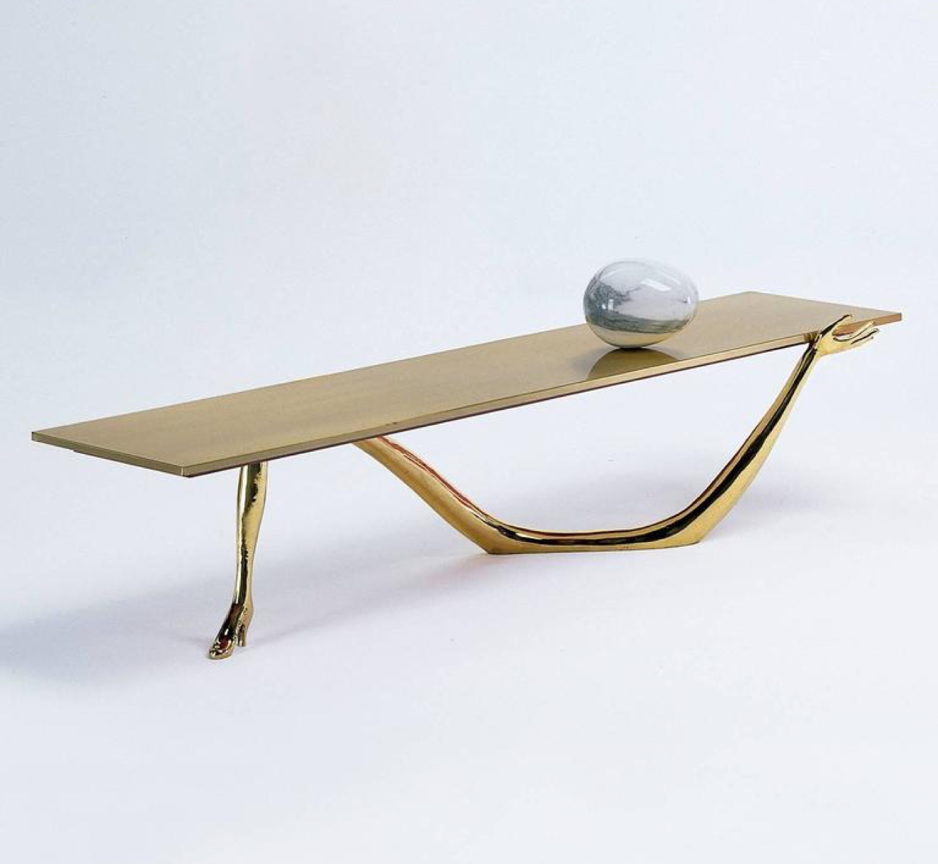 The matching Leda Table. Image via Artnet.