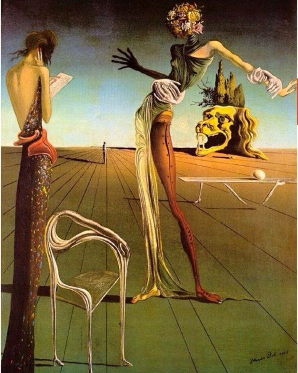 The surreal 1935 painting that led to the manufacture of several physical furniture pieces.