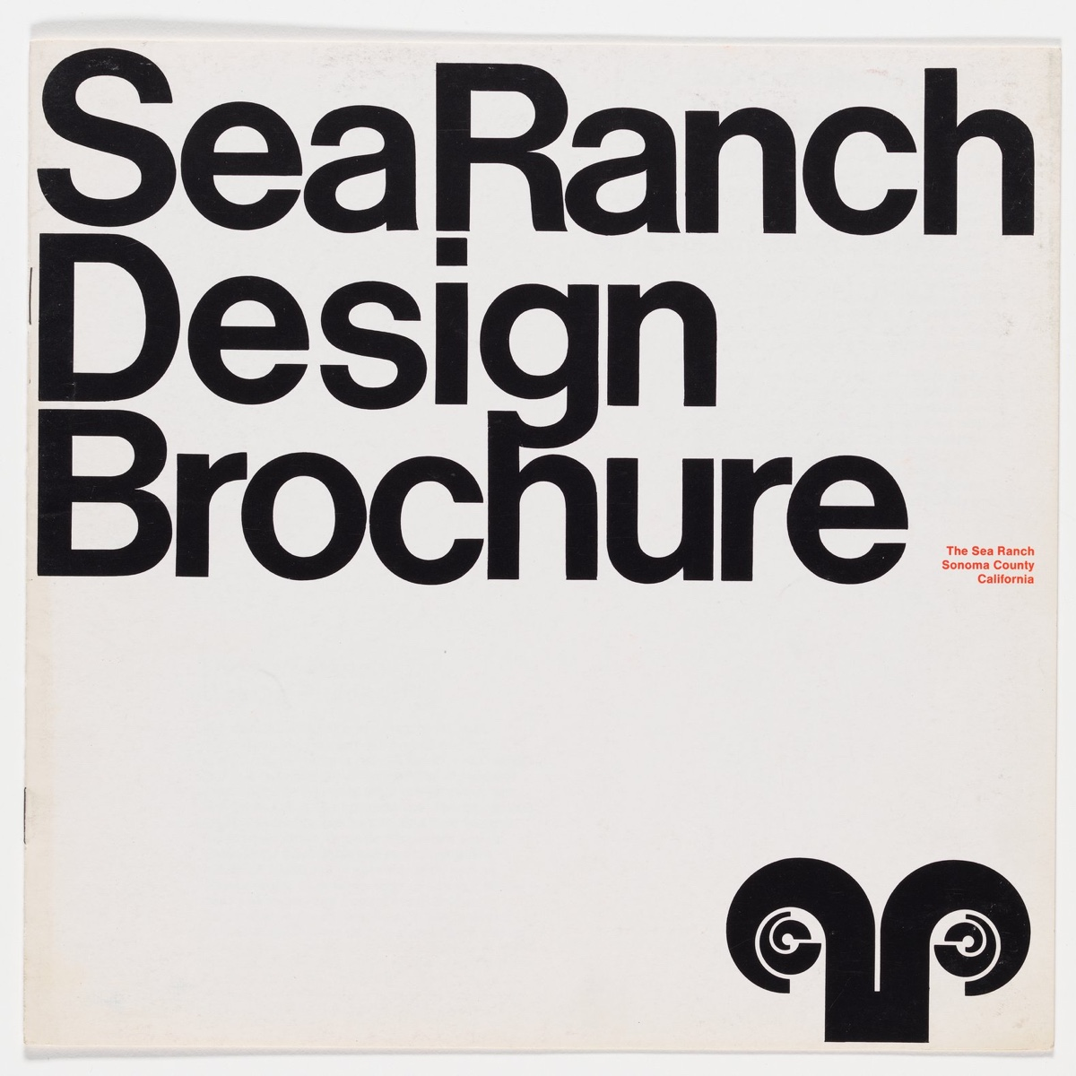 Sea Ranch design guidelines by Marion Conrad. The Sea Ranch Principles. Via the Lawrence Halprin Archive at the University of Pennsylvania.