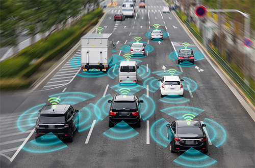 Mobile Cars and Sensors