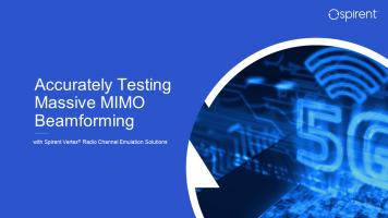 Accurately Testing Massive MIMO Beamforming