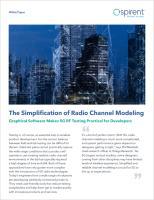 sc-The Simplification of Radio Channel Modeling