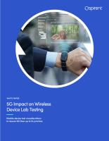 5G Impact on Wireless Device Lab Testing
