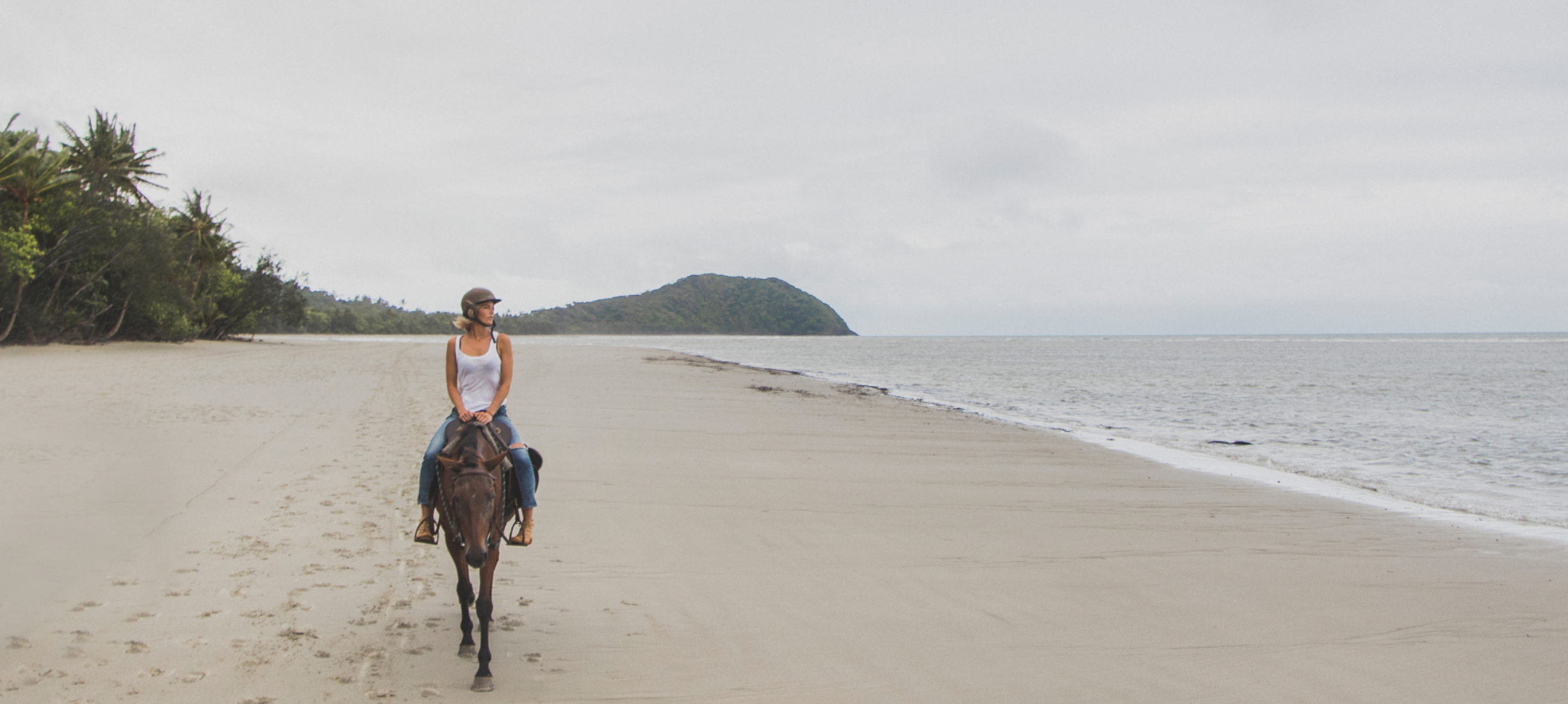 Horse riding Myall Beach Cape Tribulation