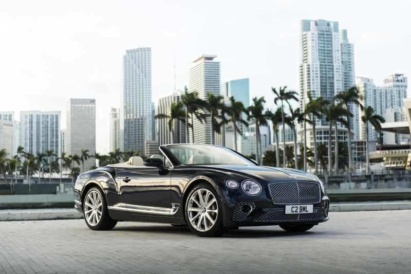 The still of a Bentley Continental GT Convertible