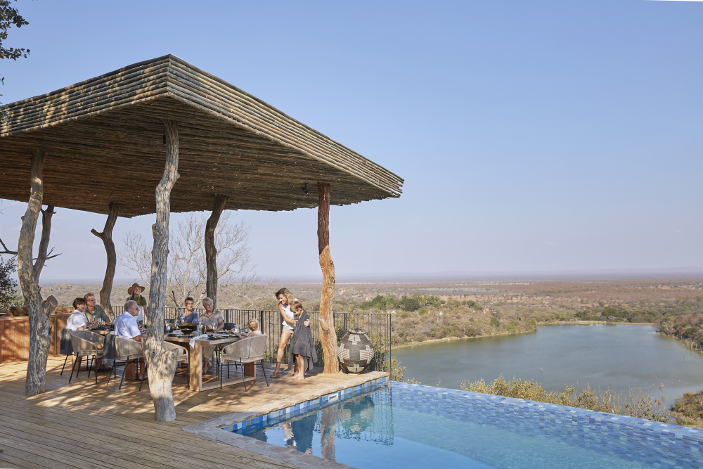 Singita's Private Villa Collection offers a handful of exclusive-use sanctuaries perfect for families to reconnect