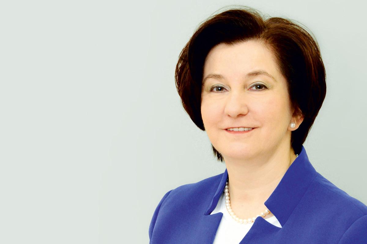 Prof. Ewa Mrukwa-Kominek, kier. Katedry i Kliniki Okulistyki Śląskiego Uniwersytetu Medycznego