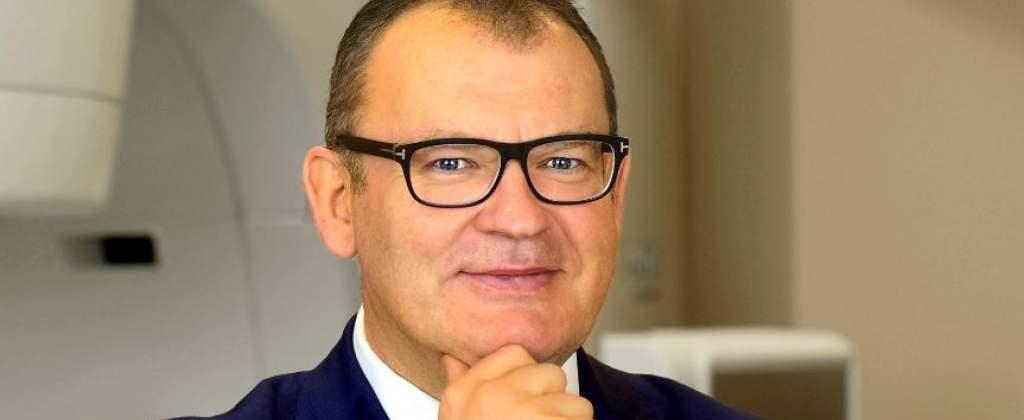 prof. Piotr Milecki, ordynator Oddziału Radioterapii Onkologicznej I i Kierownik Zakładu Radioterapii I w Wielkopolskim Centrum Onkologii.