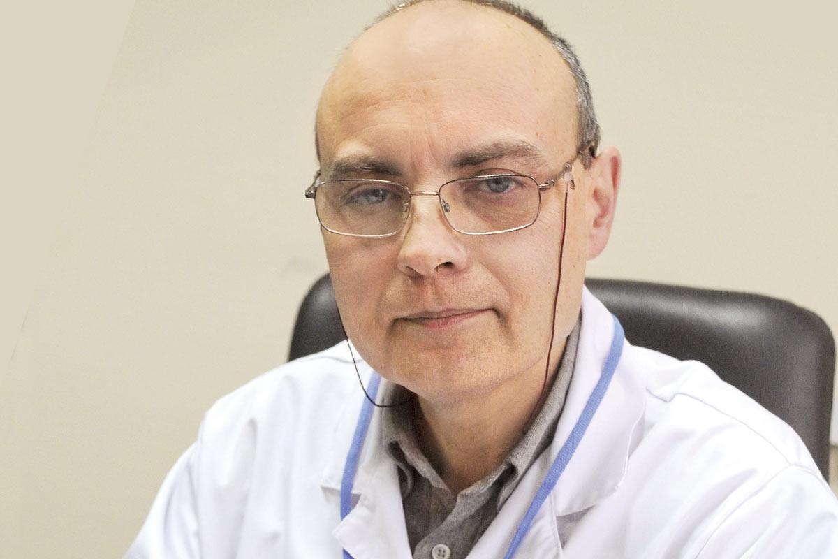 prof. Mariusz Bidziński, ginekolog onkologiczny, kierownik Kliniki Ginekologii Onkologicznej w Narodowym Instytucie Onkologii w Warszawie