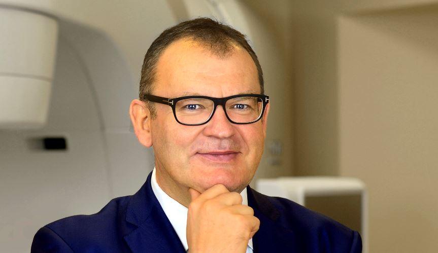 prof. Piotr Milecki, ordynator Oddziału Radioterapii Onkologicznej I i kierownik Zakładu Radioterapii I w Wielkopolskim Centrum Onkologii