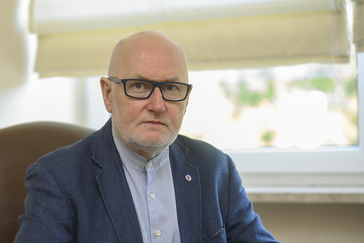 Prof. Ryszard Gellert, krajowy konsultant w dziedzinie nefrologii.