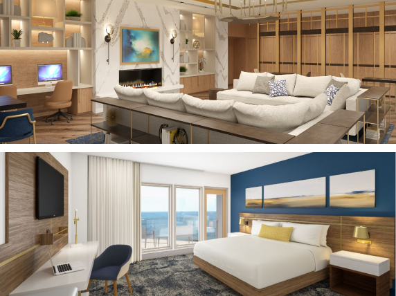 Images of inside the Delta by Marriott Virginia Beach Bayfront Suites
