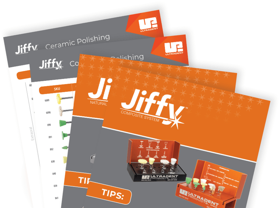 Jiffy Tips for various polishers