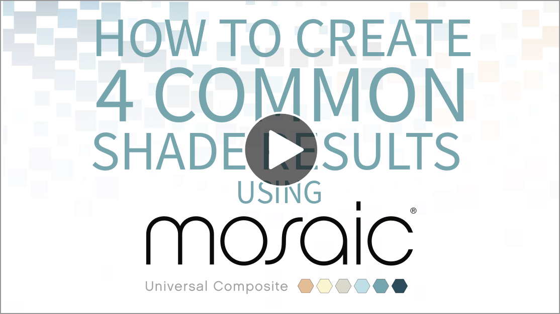 How to Create 4 Common Shades Results using Mosaic Video