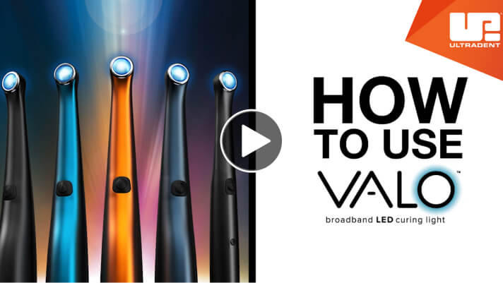 How to use VALO curing light