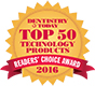 2016 Dentistry Today Top 50 Technology Award VALO