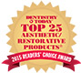2015 Dentistry Today Top25 AestheticRestorative(Uveneer)