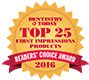 2016 Dentistry Today Readers Choice Top 25 First Impressions USXThydro