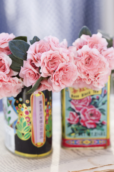 Två azaleor AIKO placerade tillsammans. Foto: Blomsterfrämjandet/Anna Skoog