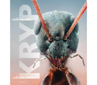 Boken Kryp med text av Lars-Åke Janzon och foto av John Hallmén. Foto: Norstedts