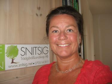 Landskapsingenjör Karin Malmberg.