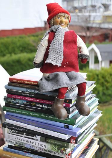Kanske några trädgårdsböcker?  Foto: Sylvia Svensson
