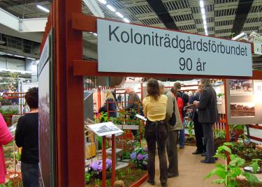 Grattis Koloniträdgårdsföreningen, 90 år! Foto: Bernt Svensson