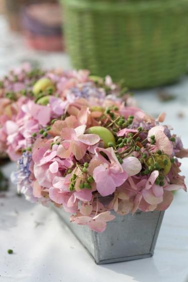 Blommor i kakform. Foto: Blomsterfrämjandet