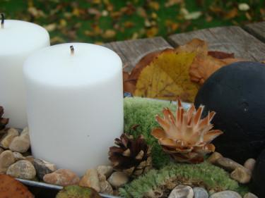 Pyssla, pynta och skapa förutsättningar för ljus i novembermörkret!  Foto: Katarina Kihlberg