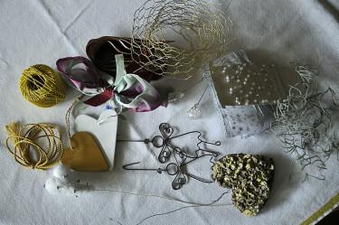 Dekorationsmaterial som kan användas. Foto: Bernt Svensson