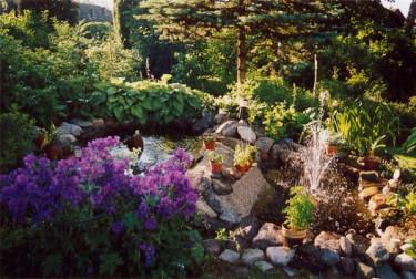 Den rörigaste trädgården.