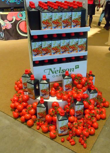 Nelson: tomatgödning. Foto: Sylvia Svensson