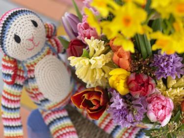 Lekfull bukett! Foto: Blomsterfrämjandet