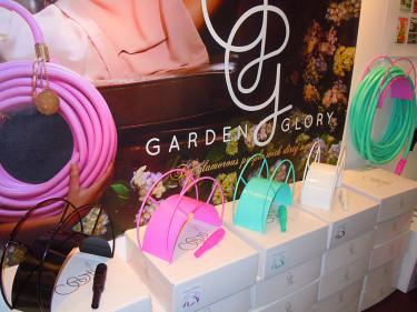 Trädgårdsslangar i färg från garden Glory. Foto: Sylvia Svensson