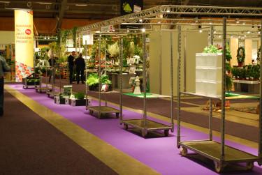 Produkterna presenteras. Foto: Elmia Garden