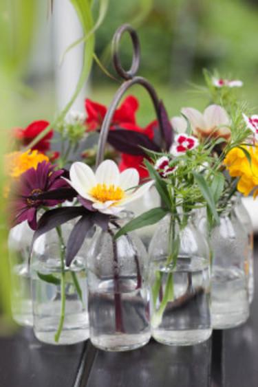 Vacker bukett.  Foto: Blomsterfrämjandet/Anna Skoog