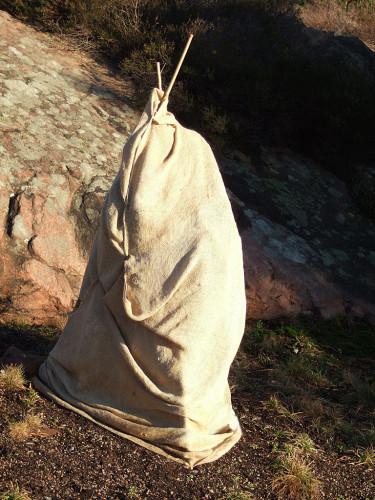 Solskydd på vårvintern Foto: Sylvia Svensson
