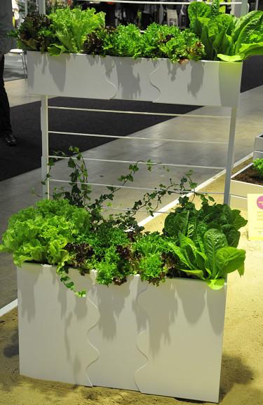 Urban Garden odlingslådor, SMD Design. Foto: Bernt Svensson