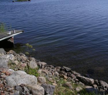 Bräckt vatten i Bottenviken kan i nödfall användas att vattna med.