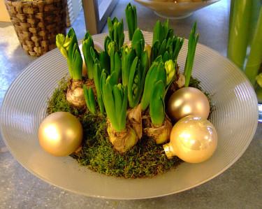 ... liknande med julkulor Foto: Sylvia Svensson