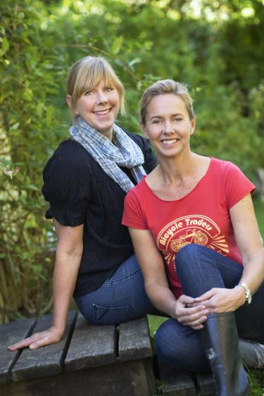 Bella Linde och Lena Granefelt