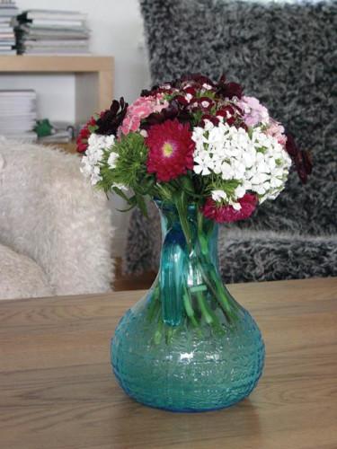 Knippbukett. Foto: Blomsterfrämjandet.