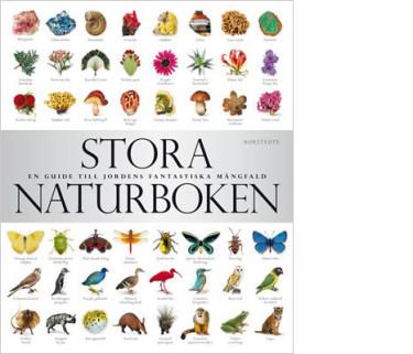 Stora Naturboken från Nordstedts för alla naturälskare.