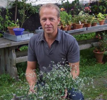Hasse Wester, slottsträdgårdsmästare och flitig bloggare.