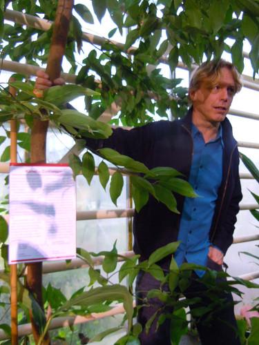 Mats Havström hänger i kanelen, _Cinnamon_. Foto: Sylvia Svensson