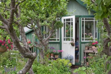 Den historiska trädgården Foto: Blomsterfrämjandet/Minna Mercke Schmidt