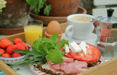 Frukost i det gröna!