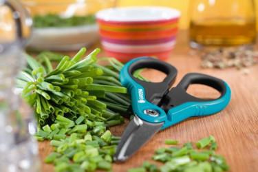 En trädgårdsdsax är praktisk och användbar utomhus, i växthuset och inomhus.