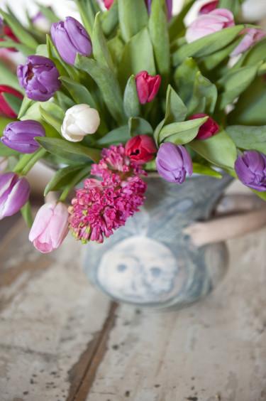 Tulpaner och hyacinter Foto: Blomsterfrämjandet